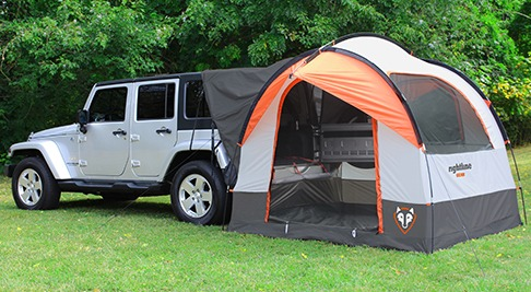 The Rightline Gear SUV Tent lets you c& without leaving all the luxuries of home behind. The adjustable nature of the vehicle sleeve allows the tent to ... & Truck and SUV Tents-Camping Options for the Overlander - | TAP ...