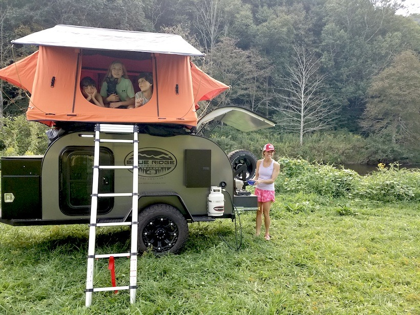 Blue Ridge Expedition Trailers Tap Into Adventure