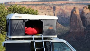 roof top tent Roofnest Eagle in the Colorado National Monument