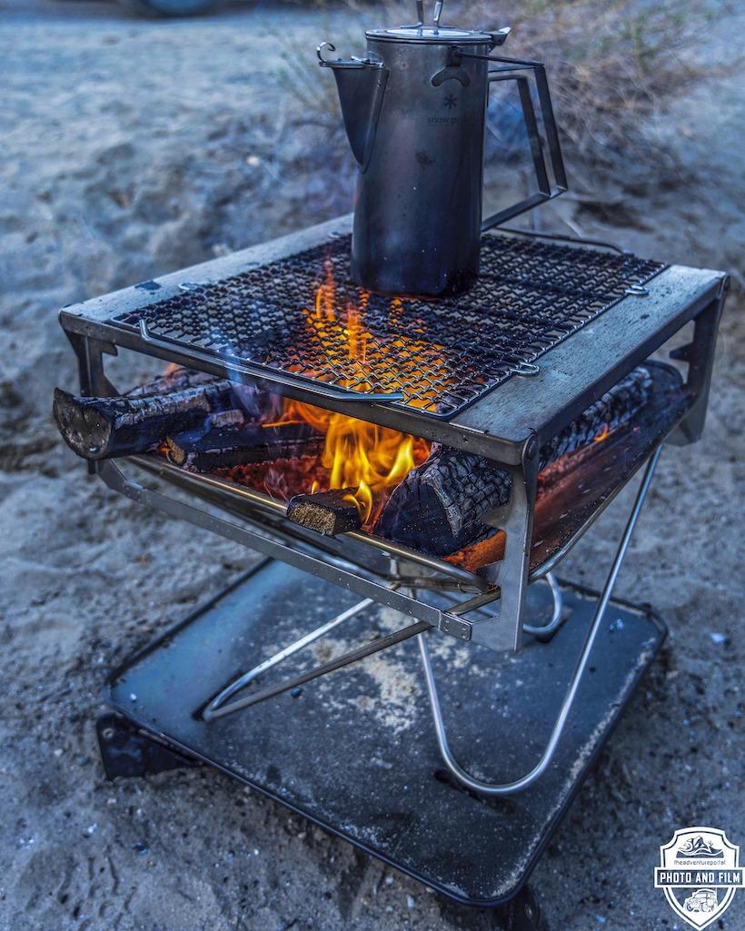 Snow Peak Takibi Fire and Grill