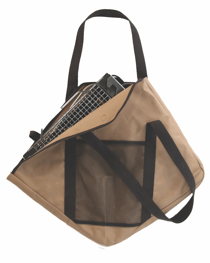 Storage bag for the Snow Peak Takibi fire and grill