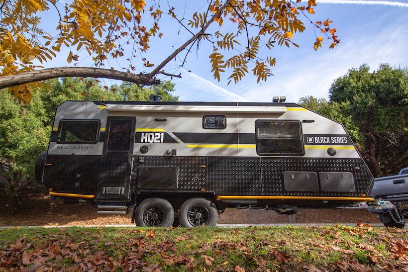 black series camper